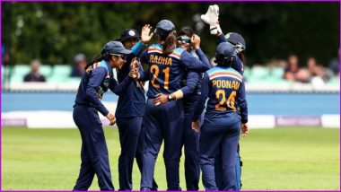 England Women vs India Women Live Cricket Streaming of 3rd T20I 2021: Watch Free Telecast of ENG W vs IND W on TV & SonyLiv Online