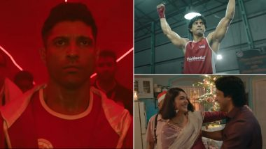 Dekh Toofaan Aaya Hai From Toofaan: Farhan Akhtar Is Intense, Energetic and All About Attaining His Goals in This Peppy Track by D'Evil (Watch Video)