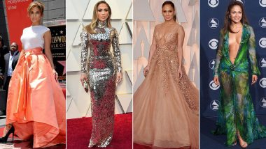 Jennifer Lopez Birthday: Bold, Sexy and Phenomenal, Her Fashion Closet Deserves a Round of Applause (View Pics)