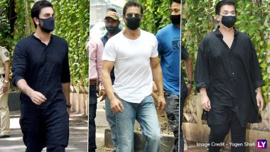 Dilip Kumar Funeral: Shah Rukh Khan, Ranbir Kapoor, Karan Johar, Anil Kapoor Visit Late Actor's House Before His Last Rites (See Pics)