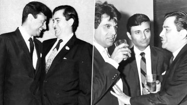 Dilip Kumar Dies at 98: Throwback Pictures of the Actor With Raj Kapoor and Dev Anand As Their Golden Era Comes to a Close!
