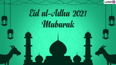 Eid al-Adha 2021 Greetings & Bakrid Mubarak HD Images: WhatsApp Messages, GIFs, Wallpapers, Quotes and Wishes for Family and Friends