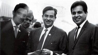 Dilip Kumar Demise: Karisma Kapoor Shares Late Actor's Vintage Pic Alongside Dev Anand and Raj Kapoor, Calls Them 'Legendary Trio'