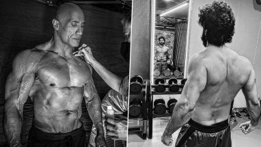 Did Dwayne Johnson Inspire Varun Dhawan to Flaunt His Ripped Muscles in this B&W Pic? Here's Why We Feel So!