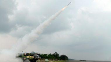 DRDO Successfully Flight-Tests Surface-to-Air Missile Akash-NG Off Odisha Coast (See Pics)