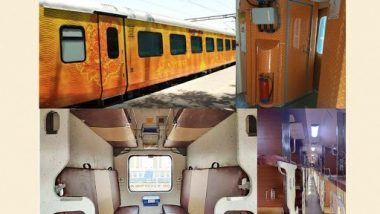 Western Railway Runs Rajdhani Express With New Upgraded Tejas-Type Coaches With Enhanced Smart Features (See Pics)