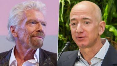 Richard Branson-Jeff Bezos 'Space Tourism' Race Begins, World on the Edge