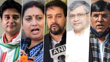 Modi Cabinet 2.0 Portfolios: Jyotiraditya Scindia Gets Civil Aviation Ministry, Mansukh Mandaviya Gets Health Ministry, Anurag Thakur To Be I&B Minister; Here's Who Got What After Cabinet Expansion