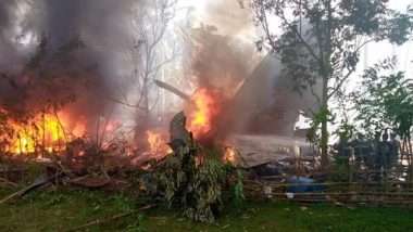 Philippines Plane Crash: Death Toll in C-130 Military Plane Crash Rises to 29, Total 50 Rescued So Far From Burning Wreckage