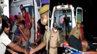 Uttar Pradesh Road Accident: About 18 Killed, Several Injured After Truck Rams Into Parked Bus in Barabanki
