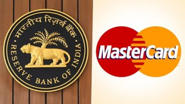 RBI Imposes Restrictions on Mastercard From Onboarding New Customers From July 22