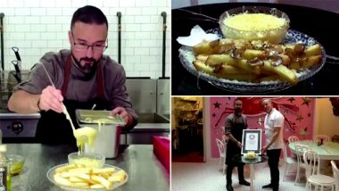 French Fries for $200: World's Most Expensive Fries Are Cooked in Pure Goose Fat and Topped Off With Edible Gold Dust (Watch Video)