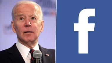 US President Joe Biden Hits Out at Facebook, Says 'It Is Killing People With COVID-19 Misinformation'