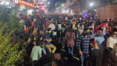 Manali Flocked by Tourists; Netizens Share Images of Crowded Streets in The Himachal Town And Wonder If COVID-19 Third Wave is Coming