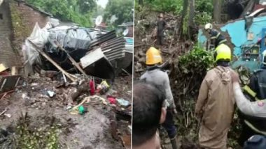 Mumbai Wall Collapse: 11 Killed After Wall Collapses on Shanties in Chembur's Bharat Nagar
