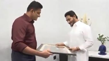 Anil Kumble Meets Andhra Pradesh CM YS Jagan Mohan Reddy, Offers Support To Set Up Sports University in the State