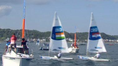 Vishnu Saravanan at Tokyo Olympics 2020, Sailing Live Streaming Online: Know TV Channel & Telecast Details of Men's Laser (Race 9, 10) Coverage