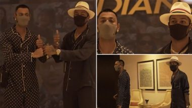 IPL 2021 Diaries: Pandya Brothers, Krunal and Hardik, Arrive for the Second Leg of T20 Tournament With Full Swag, Mumbai Indians Share Video