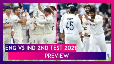 ENG vs IND 2nd Test 2021 Preview & Playing XI: Teams Look To Battle In Out for Supremacy After Trent Bridge Washout