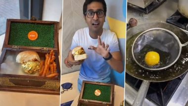 Gold Vada Pav! Dubai Serves World's First 22K Gold Plated Vada Pav At A Whopping Price (Watch Video)