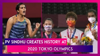 PV Sindhu Becomes First Indian Woman To Win Two Olympic Medals