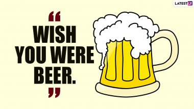This International Beer Day 2021, Let's Spill Some Funny Beer Puns Guilt-Free!