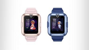 Huawei Launches Children's Watch 4 Pro Smartwatch in China