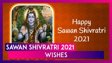 Sawan Shivratri 2021 Wishes, WhatsApp Messages & Lord Shiva Photos To Celebrate This Auspicious Day