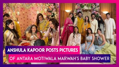 Anshula Kapoor Posts Pictures Of Antara Motiwala Marwah's Baby Shower; Sonam & Rhea Kapoor, Arjun, Khushi & Shanaya Kapoor Rock The Traditional Look