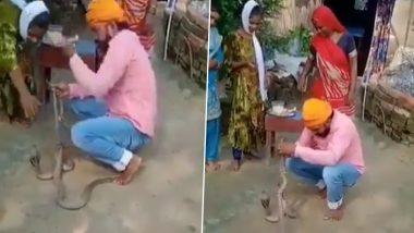 Raksha Bandhan Turns Tragic in Bihar: Chhapra Man Tries to Tie Rakhi to Snake, Dies After Reptile Bites Him