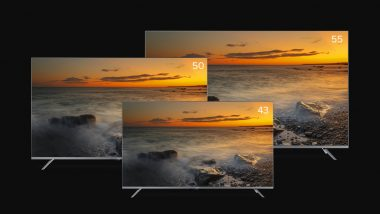 Xiaomi Launches Mi TV 5X Series in India Starting at Rs 31,999