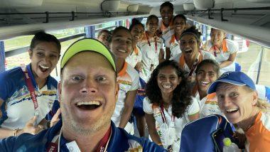 Sjoerd Marijne, India Women's Hockey Team Coach, Has Hilarious Reaction After Securing Semifinal Berth At Tokyo 2020 (View Pic)
