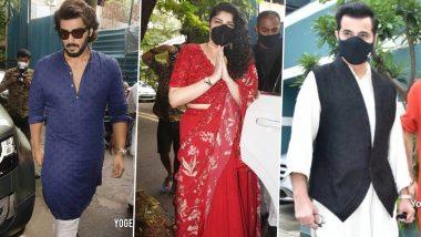 Rhea Kapoor-Karan Boolani Wedding: Arjun Kapoor, Anshula Kapoor, Sanjay Kapoor And More Arrive At The Venue (View Pics)
