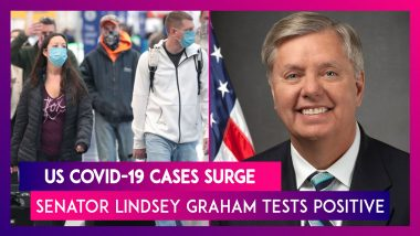 US Covid-19 Cases Surge Due To Delta Variant, Senator Lindsey Graham Tests Positive Despite Being Fully Vaccinated