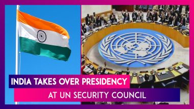 India Takes Over Presidency At UN Security Council For August, Thanks France