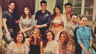 Shah Rukh Khan, Kareena Kapoor Khan, Karan Johar, Karisma Kapoor Spend a Starry Sunday Evening Together