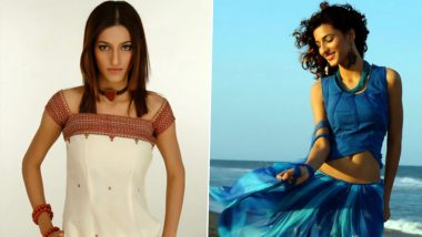 Shruti Haasan Shares Stills From Her First-Ever Modelling Gig When She Was Just 17 (See Pics)