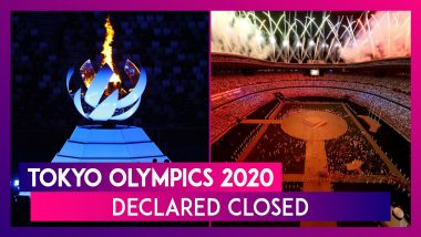 Tokyo Olympics 2020, Conducted After A Year's Delay Due To Pandemic, Comes To A Close