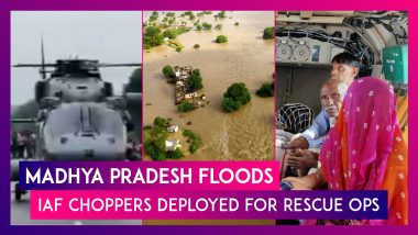 Madhya Pradesh Floods: IAF Choppers Deployed For Rescue Ops In Shivpuri, Gwalior