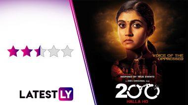 200 Halla Ho Movie Review: Zee5's Legal Drama, Starring Amol Palekar, Rinku Rajguru and Barun Sobti, Is Powerful but Deserves Better Treatment (LatestLY Exclusive)
