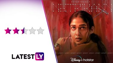 Netrikann Movie Review: Once Again, Nayanthara Saves a Predictable Thriller With Her Commanding Performance (LatestLY Exclusive)