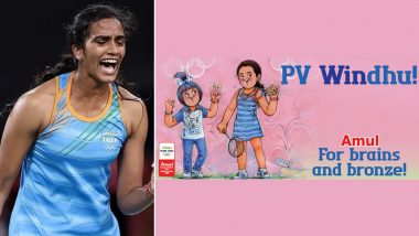 Amul Congratulates PV Sindhu For Winning Olympic Bronze Medal At Tokyo 2020 In Latest Topical