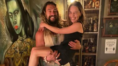 Jason Momoa Lifting Emilia Clarke in This Picture Reminds of Khaleesi and Khal Drogo's Love From Game of Thrones!