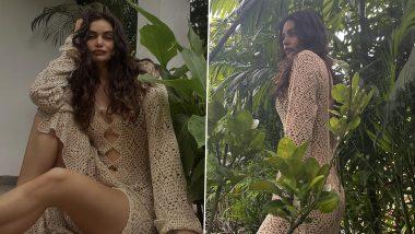 Arjun Rampal's Partner Gabriella Demetriades Looks Resplendent In a Stylish Crochet Lush Dress, View Latest Photos