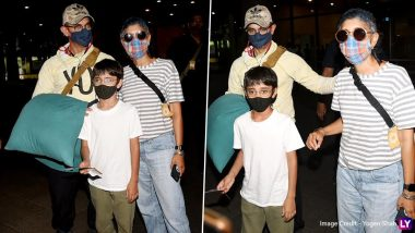 Aamir Khan, Kiran Rao And Their Son Azad Return To The Bay After Filming Laal Singh Chaddha In Kargil (View Pics)