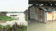 Delhi Rains: Yamuna Water Level Rises Close to Danger Mark at Loha Pul (View Pics)
