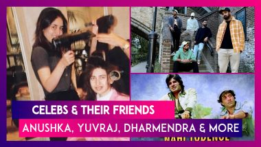 Celebs And Their Friends: Anushka Sharma, Yuvraj Singh, Karisma Kapoor, Dharmendra, Dia Mirza & Other Bollywood Celebs Extend Heartfelt Wishes