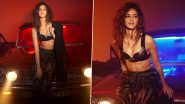 Ananya Panday Raises the Temperature in a Sultry Black Outfit As She Poses for the Cover of Cosmopolitan (View Pics)