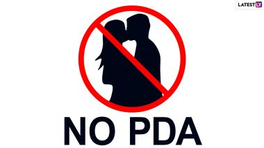 'No Kissing Zone' in Mumbai: Society in Borivali Paints Sign Restricting Couples from Engaging in Intimate Acts