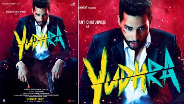 Yudhra: Siddhant Chaturvedi Begins Shooting for His Upcoming Romantic Action-Thriller Film (View Pic)